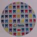 Mouse Pad Redondo 18 X 18 cm espuma de 3 mm e impressão digital - FRETE GRÁTIS